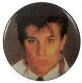 Duran Duran - 'Roger Taylor Dark' Button Badge